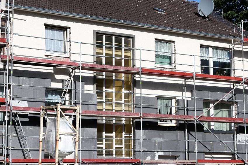 Energetische Sanierung eines Mietshauses