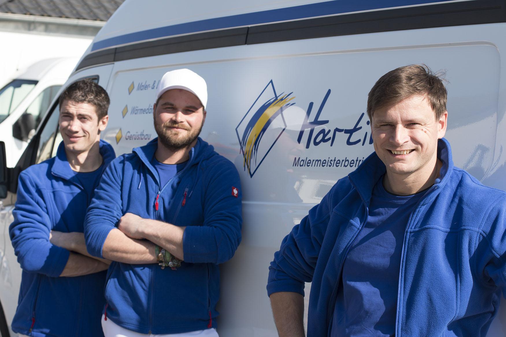 Malermeister-Hartinger-Team